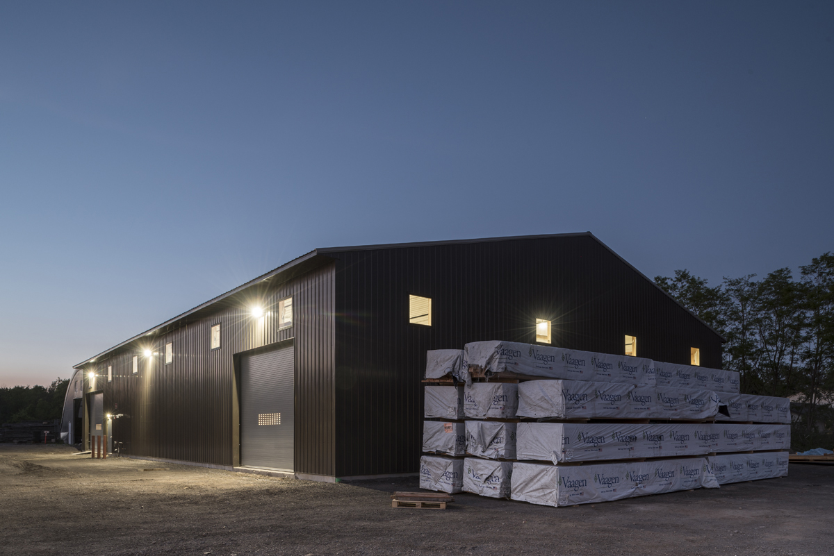 Our High-Performance Enclosure Building at our Finger Lakes Campus