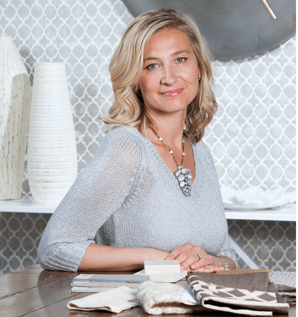 "Jennifer Palumbo of Jennifer Palumbo Inc, a Boston-based interior design firm. She believes, ""Any interior space can fulfill its function while encompassing beauty and timelessness."""