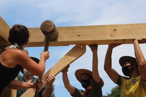 Women Only Timber Framing Class--Timber Framers Guild Heartwood School