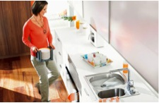 We also like Blum's line of organizational products, finding them great for use in any kitchen or general cabinetry.