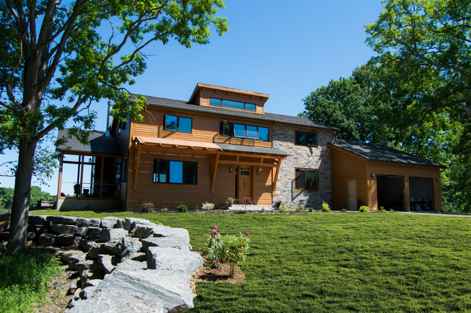 We designed and built this Net Zero home in partnership with CreekSide Energy Solutions.