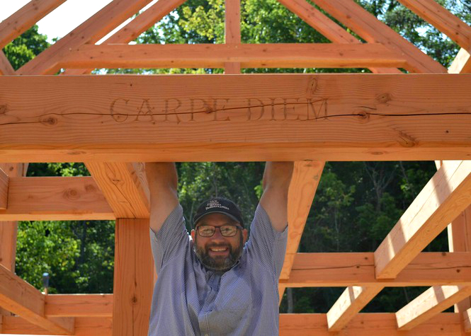 Timber frame champion and Guild member, Darren Watson, shares with us about the Timber Framers Guild Western Conference: