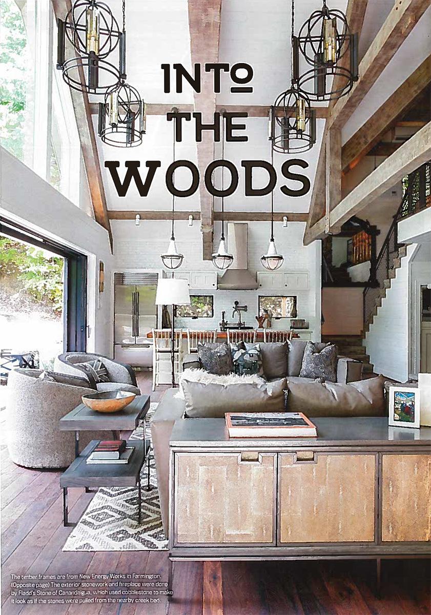 New Energy Works Timber Frame Barn in Rochester Magazine