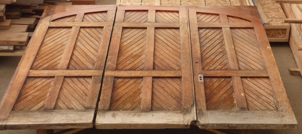 Original doors, site salvaged.