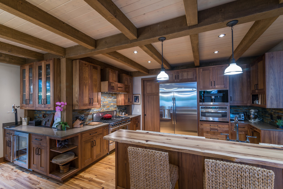 """Laurie: """"The quality and craftsmanship throughout the house is beyond anything we imagined. Will go on and on to folks who visit. So many features of the house has stories—we love that."""""""