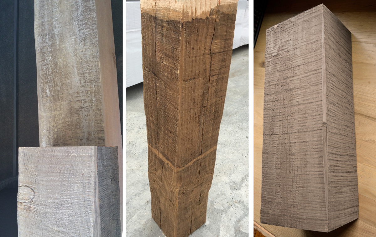 Various timber finishes/samples were explored for this Hudson Valley project.