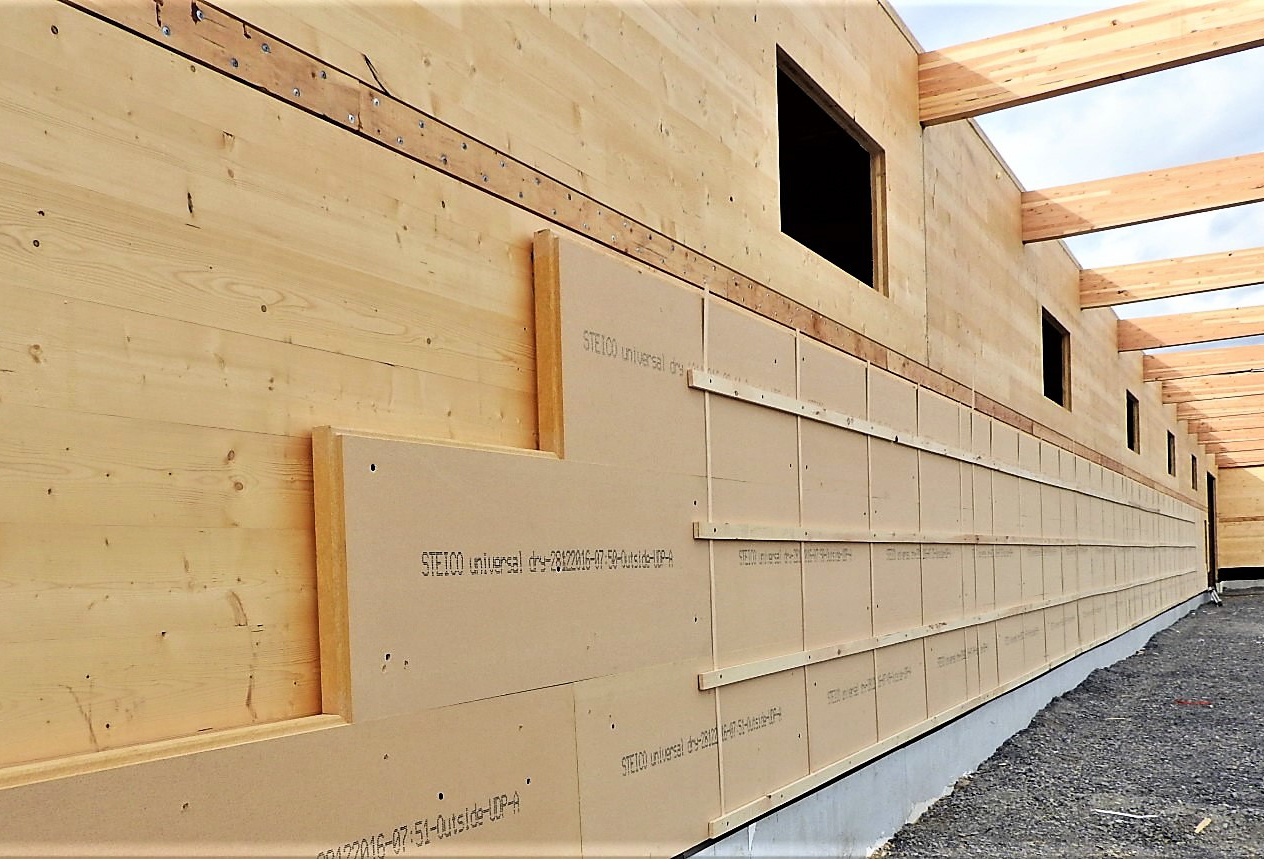 Steico wood fiber insulation is one of the evolutions the design/build team is looking into for our enclosure systems.